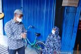 Meski lansia Halimah tetap disiplin pakai masker, Sekda Siak: ini teladan