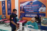 Garda pemuda Nasdem Sumbar gelar donor darah-plasma konvalesen