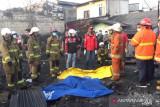 Tiga orang tewas akibat kebakaran puluhan lapak pemulung