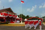 Upacara  hari kemerdekaan RI di Provinsi Kepri digelar secara daring
