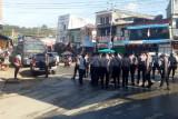 Polisi Jayapura bubarkan demo KNPB di Abepura karena langgar PPKM level IV