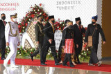 Presiden Jokowi menghadiri Sidang Tahunan MPR