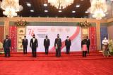 Presiden Jokowi: Anggaran pembangunan infrastruktur 2022 sebesar Rp384,8 triliun
