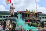 Patung Garuda Pancasila dan Jenderal Soedirman diresmikan saat peringatan HUT RI
