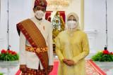 Presiden Jokowi kenakan pakaian adat Lampung pada Upacara HUT ke-76 RI