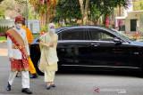 Presiden Jokowi kenakan busana adat Lampung Pepadun