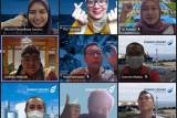 DSLNG Rayakan HUT ke-76 Kemerdekaan Indonesia secara daring