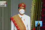 Busana adat Presiden Jokowi dan upaya tumbuhkan kebanggaan akan tradisi