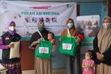LKC DD Banten berikan edukasi dan paket nutrisi bagi Ibu hamil dan menyusui dalam pekan ASI Sedunia