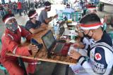 Lantamal VI vaksinasi gratis peringati HUT ke-76 Kemerdekaan RI