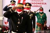 Mahfud MD pakai baju adat Bugis saat upacara HUT Kemerdekaan RI