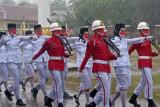 Diguyur hujan deras, upacara HUT ke-76 RI di Buton Selatan khidmat