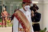 Falsafah balutan busana punyimbang adat Pepadun Lampung