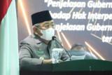 Gubernur Sulbar minta OPD percepat realisasi anggaran 2021