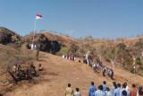 Pemkab TTU gelar upacara HUT RI di wisata Bukit Tuamese