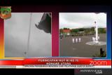 Bendera Merah Putih sempat jatuh saat upacara HUT ke-76 Kemerdekaan RI di Konawe Utara