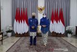 Wapres berpakaian  adat  Sunda hadiri Upacara HUT ke-76 RI di Istana Merdeka