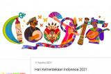 Ketua DPD LaNyalla apresiasi keragaman budaya yang ditampilkan Google Doodle