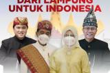 Sepekan, Pakaian adat Lampung hingga Baduy yang dikenakan Presiden Jokowi