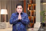 Menteri BUMN Erick Thohir buka pameran virtual kartun strip