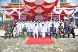 Upacara peringatan HUT Ke-76 Republik Indonesia di Mesuji berjalan khidmat