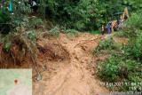 Sempat tertimbun tanah longsor,  jalan Bateh Samuik-Tombang sudah dapat dilalui kendaraan
