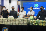 BNN gagalkan dua upaya penyelundupan 324,3 kilogram sabu-sabu