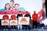 BNI apresiasi tim bulu tangkis Indonesia beri hadiah Rp6,4 Miliar