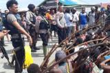 Polres Nduga Papua tangani pertikaian antar suku sebabkan tiga orang terluka