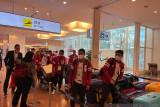 Para-badminton Indonesia singgah di Machida sebelum  ke Kampung Atlet