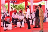 Presiden Jokowi berharap guru-pelajar bersabar untuk belajar tatap muka