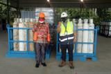 PT Freeport bantu 50 tabung oksigen medis untuk RSUD Asmat