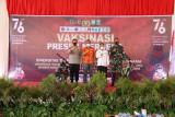 Vaksinasi Presisi Merdeka Goes to Campus Polda NTB Sasar Mahasiswa di Pulau Sumbawa