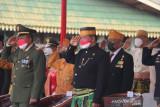 Galeri - Wakil Ketua DPRD Inhil ikuti Upacara HUT ke-76 RI