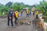 Pemkab Muba minta Kementerian PUPR perbaiki jalan lintas tengah