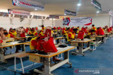 Lakukan terobosan, Kemenkumham Jateng bangun industri garmen di Rutan Surakarta