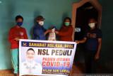 NasDem salurkan ratusan paket bantuan pangan warga isoman  di Buol