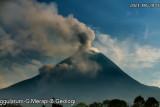 Awan panas guguran Merapi meluncur sejauh dua kilometer