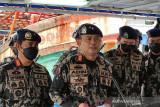 Satu unit kapal Vietnam terbakar dan tenggelam saat dikejar KKP