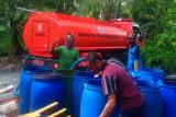 Pemkab Cilacap hentikan sementara bantuan air bersih