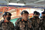 Kapal Vietnam terbakar dan tenggelam saat dikejar pengawas perikanan KKP