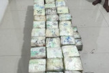 Bea cukai dan BNN gagalkan penyeludupan 218,8 kilogram sabu-sabu
