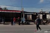 Tujuh unit toko dan 15 rumah warga di Kota Solok hangus terbakar
