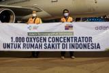 Adaro Energy serahkan bantuan 1.000 konsentrator oksigen untuk RS