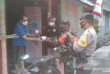 Kodim Tarakan beri bantuan berupa obat dan vitamin untuk warga isoman