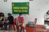 Kodim 1301 Sangihe laksanakan vaksinasi di Kampung Ulung Peliang