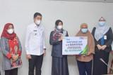 BPJSAMSOSTEK berikan santunan kematian pada tiga warga Sawahlunto