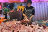 Harga ayam potong di Palembang turun Rp23.000 per Kg