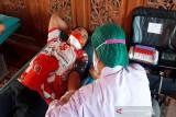 Kader PDIP Surakarta diajak bergotong royong donor darah