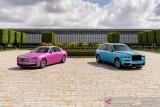 Begini tampilan nyentrik Rolls-Royce Ghost dan Cullinan Black Badge